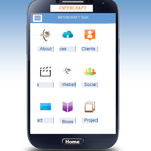 INFERCRAFT Technology Mobile App